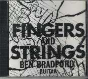 "FINGERS AND STRINGS-A selection of Finger Style guitar music ranging from the first selection, the mundane ""Mary Had a Little Lamb"" to the considerably more complex ""Malaguena Fantasia"", with a rather large variety between."